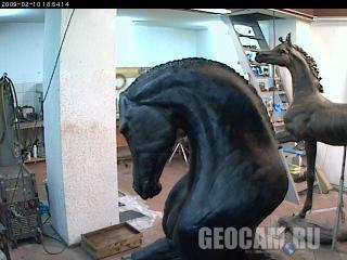 Веб-камера в художественной мастерской