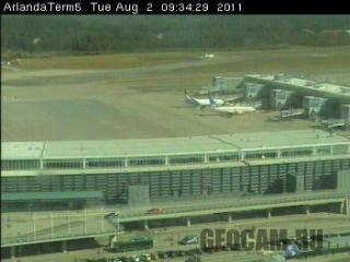 Arlanda Airport webcam
