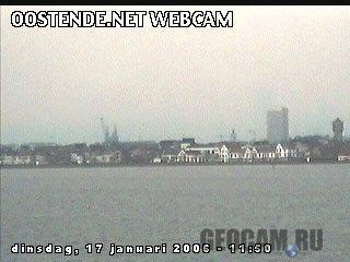 Веб-камера в городе Остенде