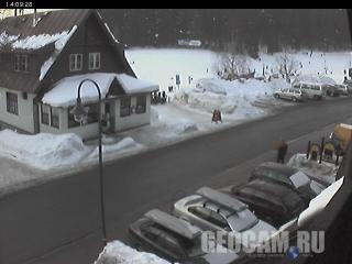 Harrachov ski resort webcam
