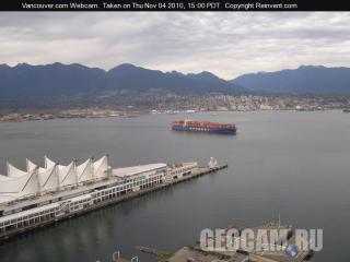 Вид на северную часть Ванкувера