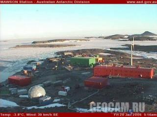 Станция «Mawson» в Антарктиде