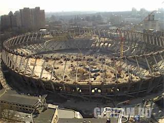 Веб-камера НСК «Олимпийский»