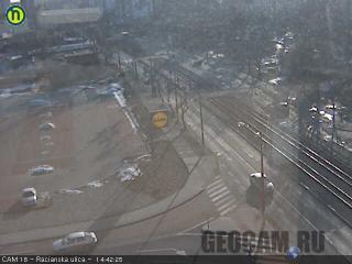 Веб-камера на улице Racianska