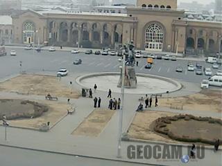 Веб-камера на площади Давида Сасунского