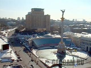 Веб-камера на Майдане (площади) независимости