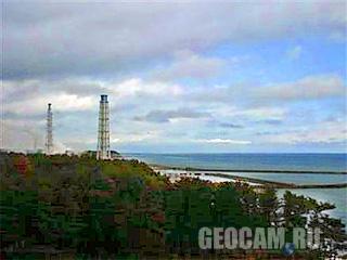 Веб-камера японской АЭС «Фукусима-1»