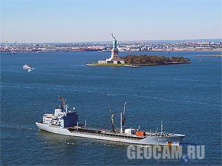 Веб-камера нью-йоркской гавани