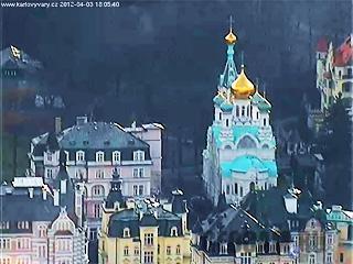 Поворотная веб-камера в Карловых Варах (Карловы Вары, Чехия)