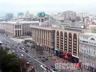 Веб камера онлайн в центре Киева