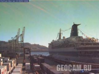 Port Chalmers Container Terminal webcam