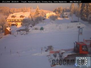 Trojak ski resort, Czech