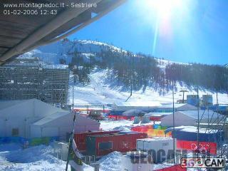 Олимпийская веб-камера в Sestriere, Италия