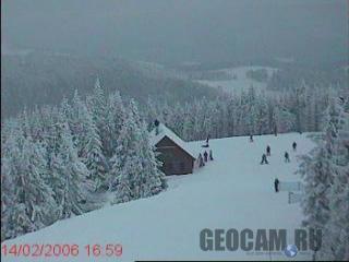 Krynica Jaworzyna ski resort, Poland