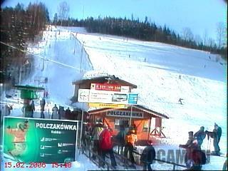 Rabka ski resort, Gorce, Poland