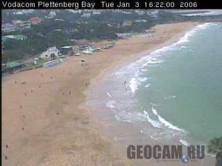 Веб-камера в заливе Plettenberg
