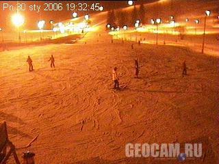 Веб-камера на польском горнолыжном курорте
