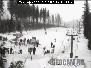 Горнолыжный курорт Karpacz Kopa в Польше