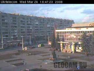 Веб-камера на площади Грушевского в Луцке