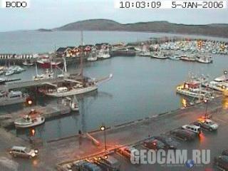 Bodo webcam, Norway