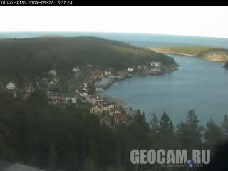 Веб-камера на Волчьем острове, Швеция