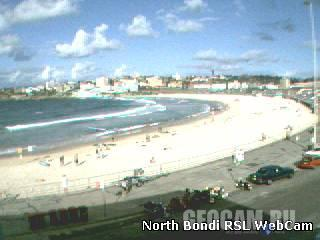 Bondi Beach webcam, Australia