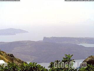 Веб-камера, показывающая вулкан, Крит