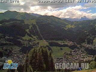 Chery webcam, Les Gets, France