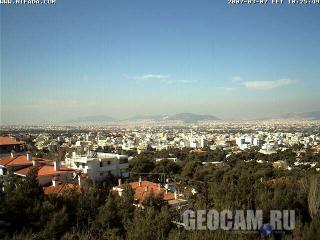 Веб-камера в Афинах: вид на город