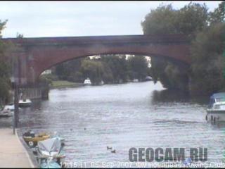 Веб-камера на реке Темза, Великобритания