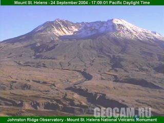 Вулканическая веб-камера - гора Святой Елены