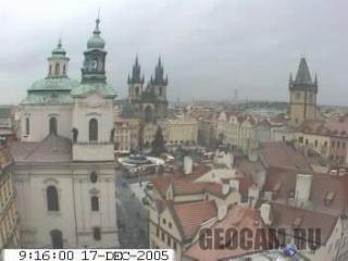 Вебкамера в Праге