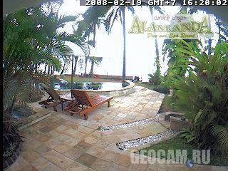 Веб-камера на острове Бали