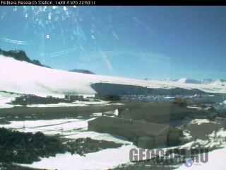Веб-камера на исследовательской станции Ротера
