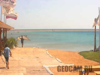 Dahab's beach webcam