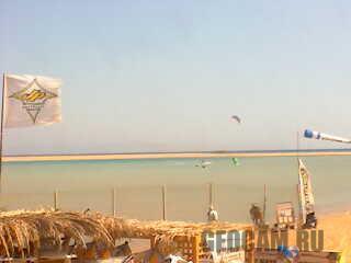 Веб-камера (2) на пляже в Дахабе