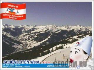 Австрийский горнолыжный курорт Schonleiten
