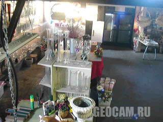 Веб-камера в студии флористики