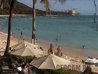 Веб-камера на пляже острова Мауи