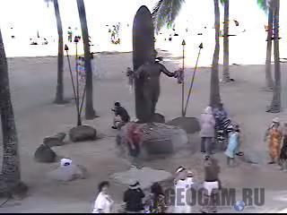 Веб-камера на пляже Вайкики (Waikiki)