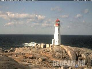 Peggys Cove Lighthouse Webcam