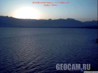 Анталия: веб-камера на залив.