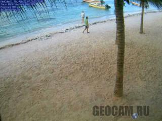 Веб-камера на пляже в Акумале