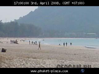Веб-камера на пляже острова Пхукет