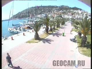 Веб-камера на набережной в Аланье