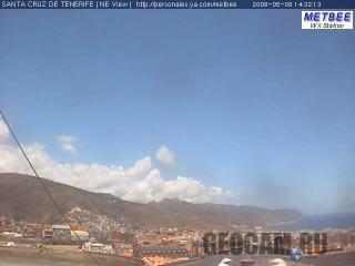 Веб-камера в Санта-Крус-де-Тенерифе (вид на северо-запад)