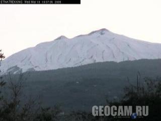 Веб-камера на вершине горы Этна