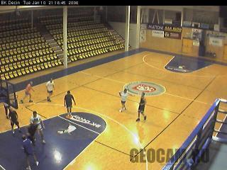 Веб-камера в баскетбольном зале