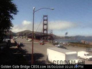 Веб-камера на мосту «Золотые Ворота»