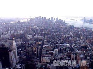 Вид на южную часть Нью-Йорка